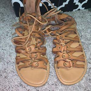 Soda gladiator sandals